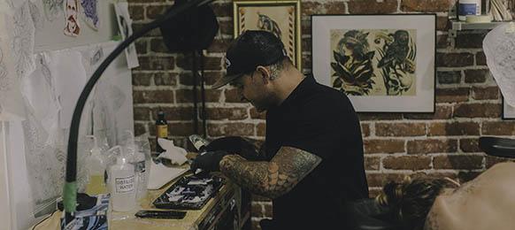 KJ tattoo artist bend