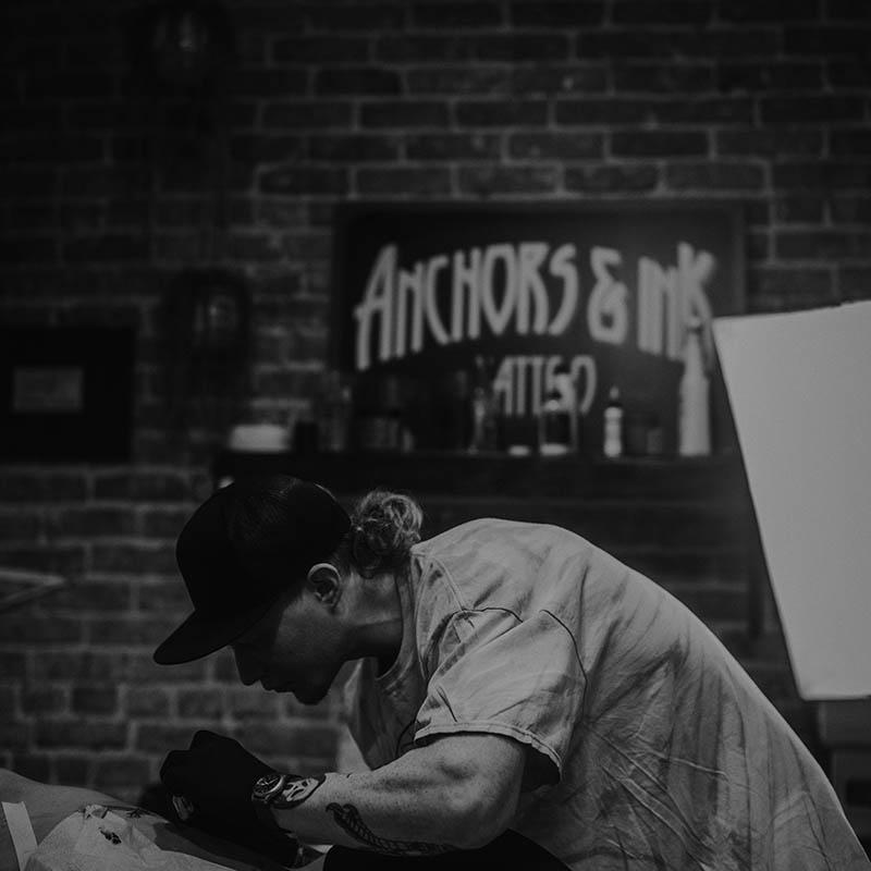 getting tattooed in bend
